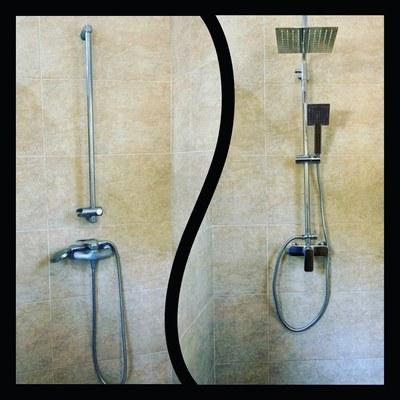 Sustitución grifería ducha