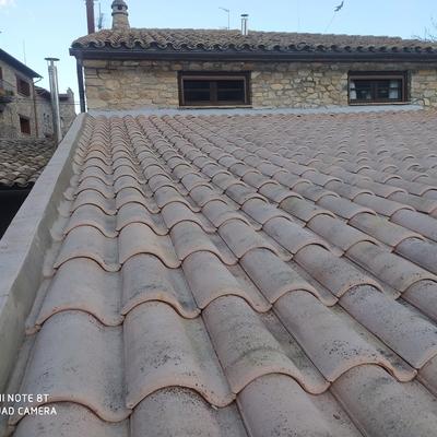 Sustitución Cubierta antigua por cubierta ventila