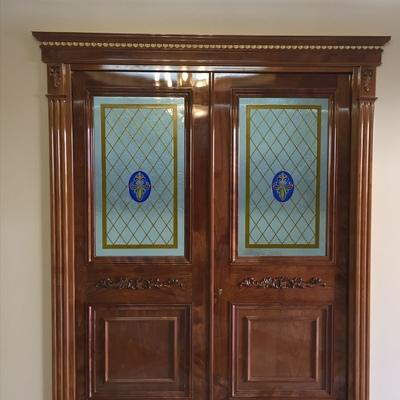 Puerta doble salon