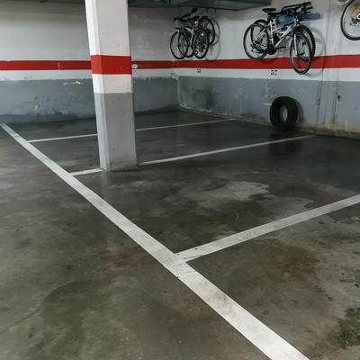 Limpieza en garaje