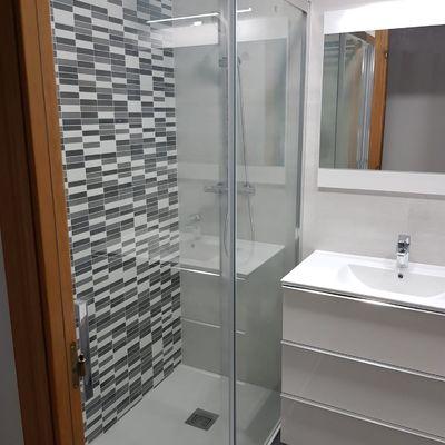 Reformas de baño con plato de ducha