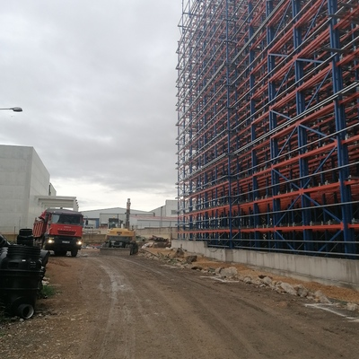 CONSTRUCCION ALMACEN AUTOMATICO