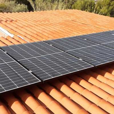 Instalación fotovoltaica 6 módulos