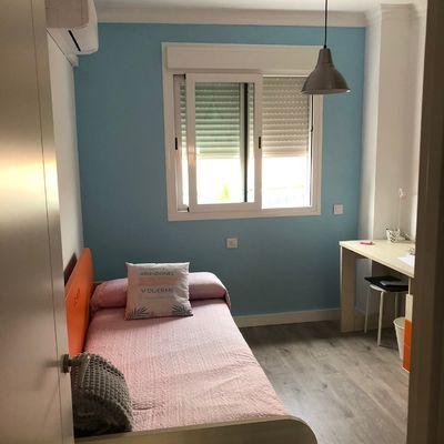 Cambio de color en habitación