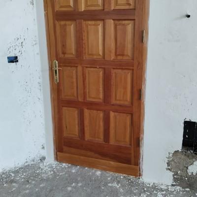 Puesta de puerta