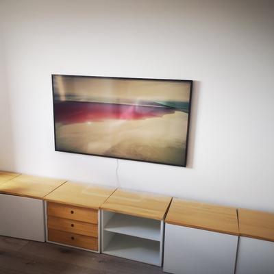 Termino de instalación de tv