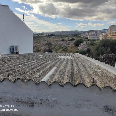 Impermeabilización de tejado.