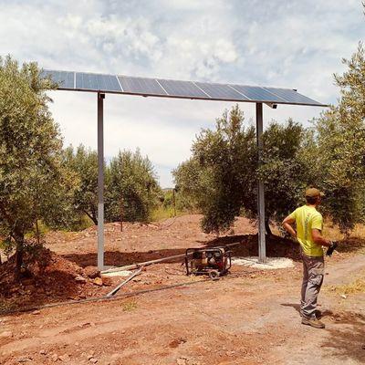 Instalación fotovoltaica 1,5 HP
