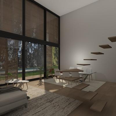 Infografía diseño viviendas Villaverde