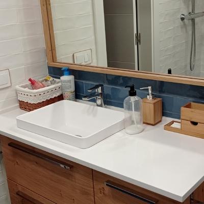 Reforma completa de baño y suministro de mobiliario