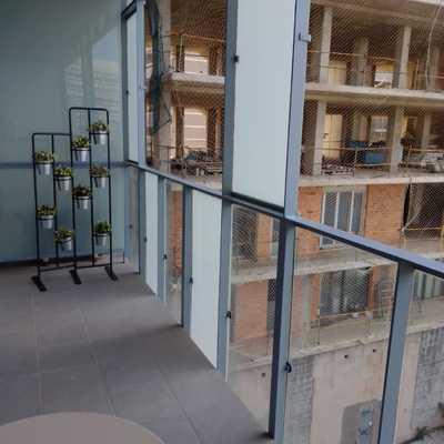 Limpieza de terrazas y cristales.