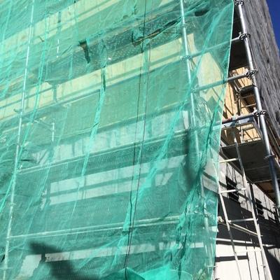Arreglo en fachada