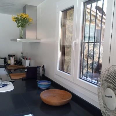 cocina ventana pvc