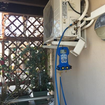 Instalación de máquinas de aire acondicionado