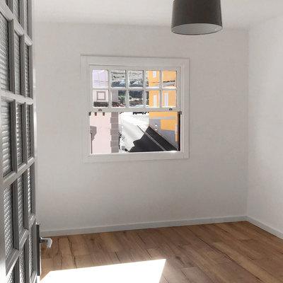 Dormitorio de un piso tras reforma (La Victoria de Acentejo, Tenerife)