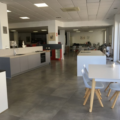 Interior de nuestro estudio de cocinas.