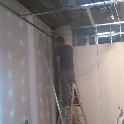 colocacion paredes i techos