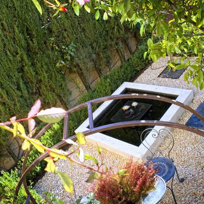 Pequeño jardín Italiano. (Madrid)