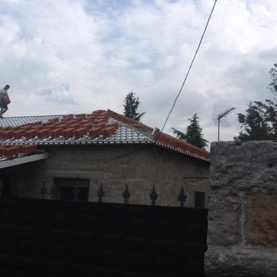 Refotma tejado casa vieja
