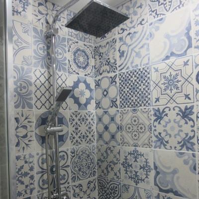Columna de ducha.