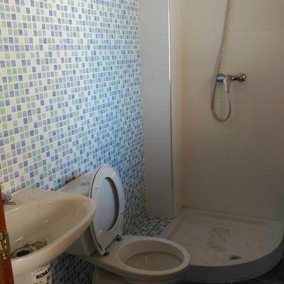 Limpieza de baños antes