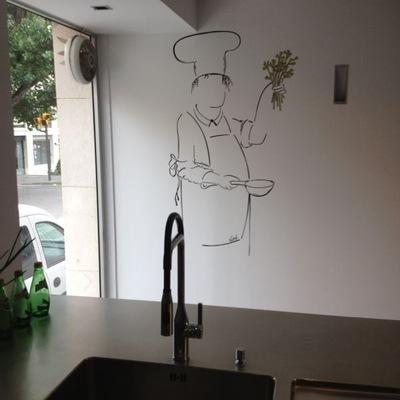 Bellas artes: cocinero