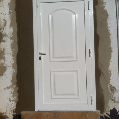 Puerta colocada