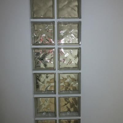 Vidriera de cristales de paves.