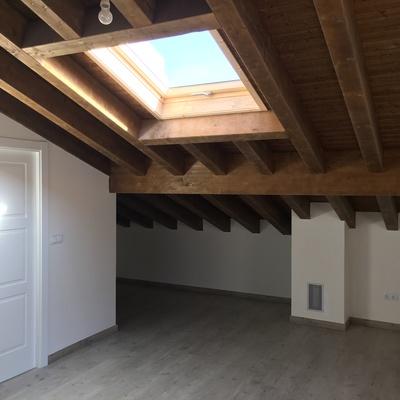 Buardilla, tejado con velux