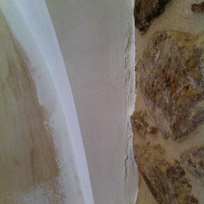 Reparación de pequeños defectos previo al pintado