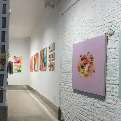 Interior Sala Exposiciones