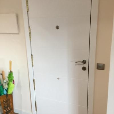 Plafón de puerta