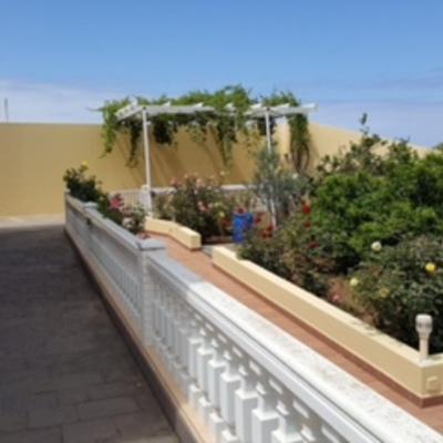 Pintura barandillas de terraza y muros exterior terraza