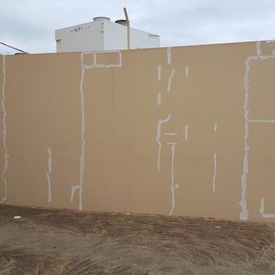 reparación de muros terraza