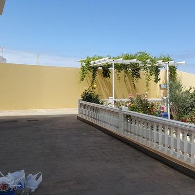 Pintura de muros, barandillas exterior terraza
