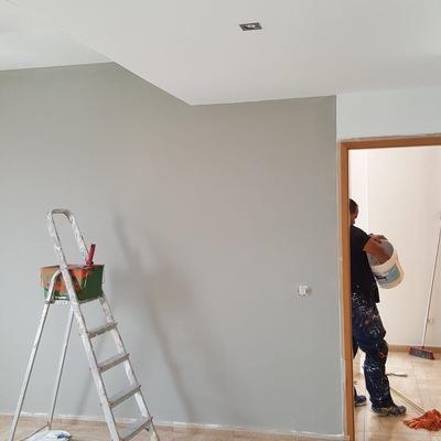 Pintura interior vivienda salón