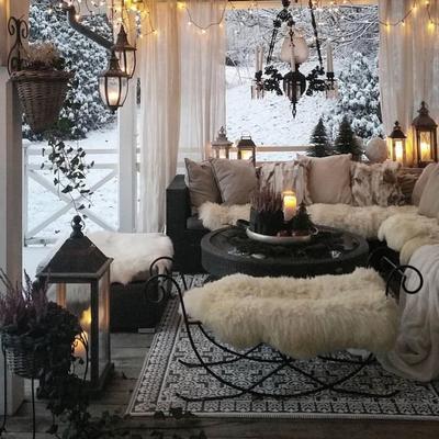 Salón cubierto
