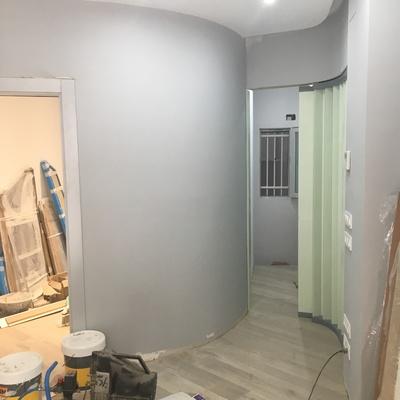 Obra: gabinete acústica Clinica