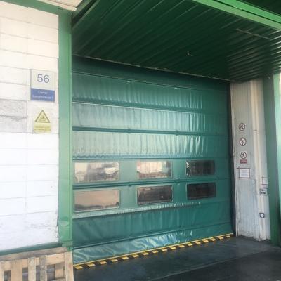 Puerta rápida de lona industrial