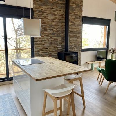 Construcción vivienda sostenible y minimalista