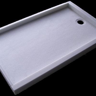 Placa de ducha en Mármol Blanco Macael