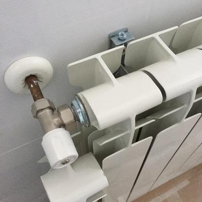 Sustitución de radiadores de chapa por aluminio