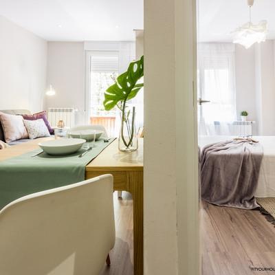 Reforma y home staging de apartamento urbano en alquiler