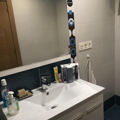 lavavo y mueble integrado