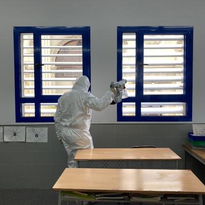 Desinfecció colegios