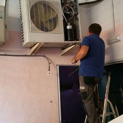 Reparación aire acondicionado