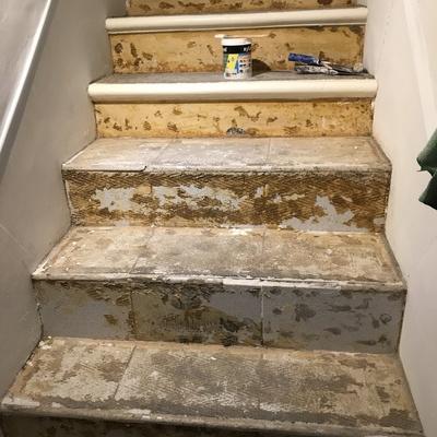 Restauracion escalera