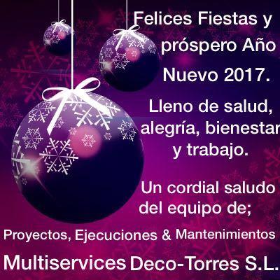 Felices fiestas y próspero año nuevo 2017!!