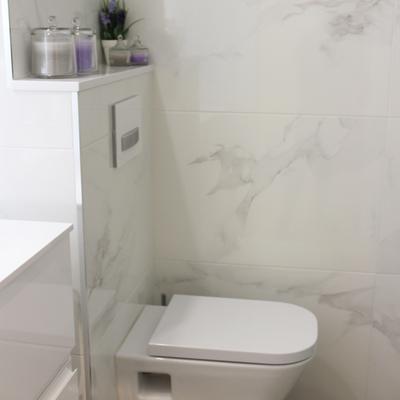 Baño marmoleado