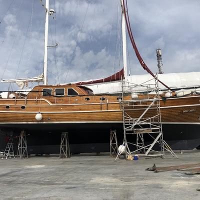 Restauracion y mantenimiento de barcos